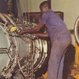 Équipement d'un réacteur de Caravelle