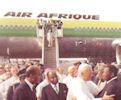 Jean-Paule II en Côte d'Ivoire le 10 mai 1981
