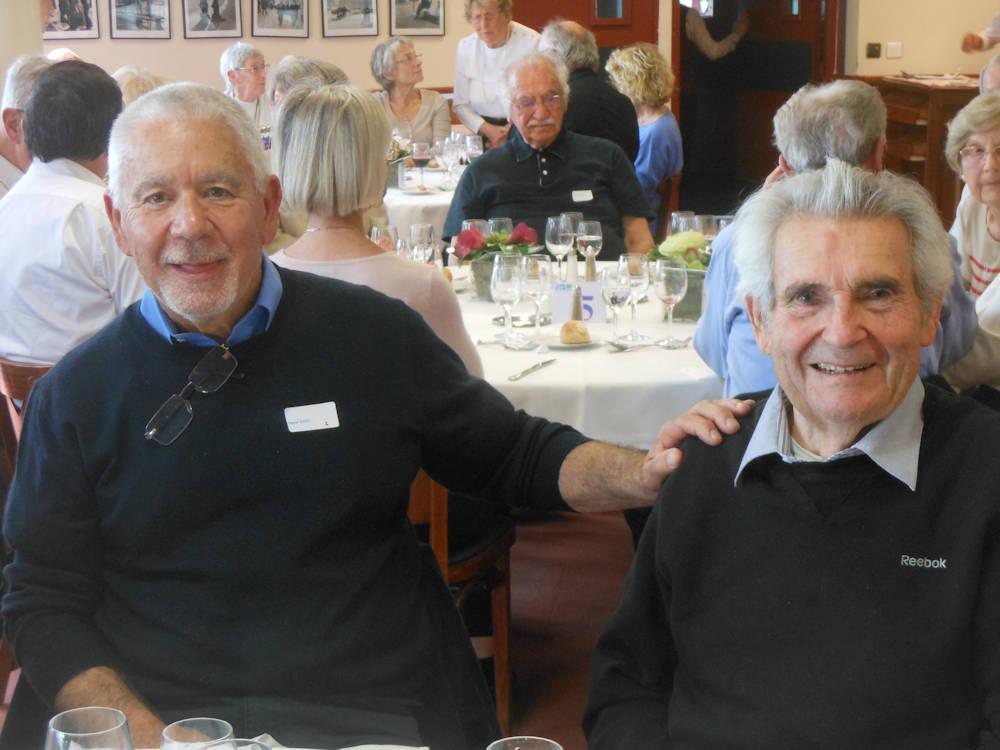 Amicale des anciens UTA, Nice le 14 mars 2017 - Jean DUMERVAL et Daniel DAIX