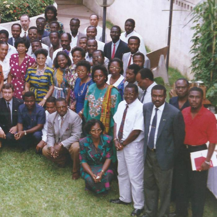 Séminaire commercial, Abidjan Ibis Plateau en  octobre 1991