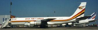 B707 cargo 5X-JET