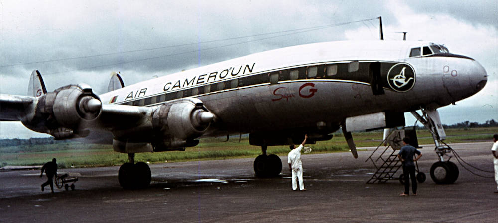F-BGNI L 1049 Super Constellation