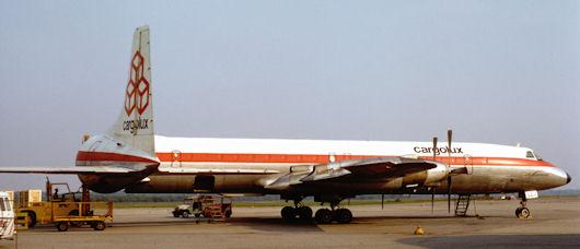 Cargolux CL-44 TF-LLJ