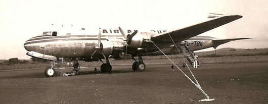 DC-4 TU-TBK