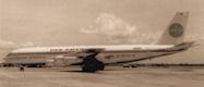 B707 Panam vols en pool avec Air Afrique