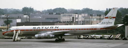 Saturn Airways - N8008F - DC-8 54F