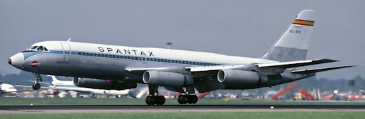 Spantax Convair Coronado - EC-BTE