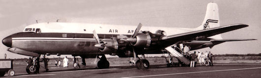 DC-6 TU-TCF