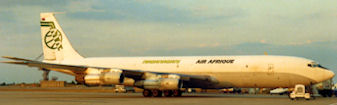 B707 cargo Naganagani XT-ABX