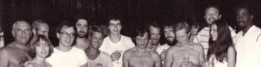 Équipe de tennis RK dans les années 80