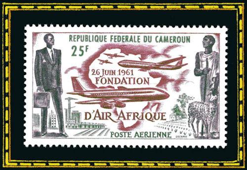 République Fédérale du Cameroun - 26 juin 1961, fondation d'Air Afrique