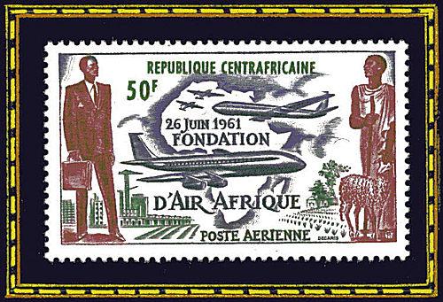 République Centrafricaine - 26 juin 1961, fondation d'Air Afrique