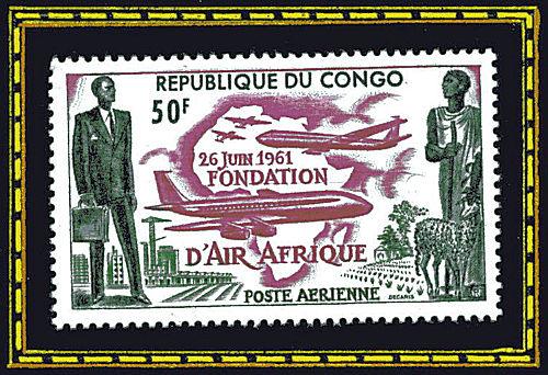 République du Congo - 26 juin 1961, fondation d'Air Afrique