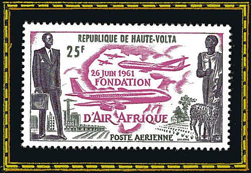 République de Haute-Volta - 26 juin 1961, fondation d'Air Afrique