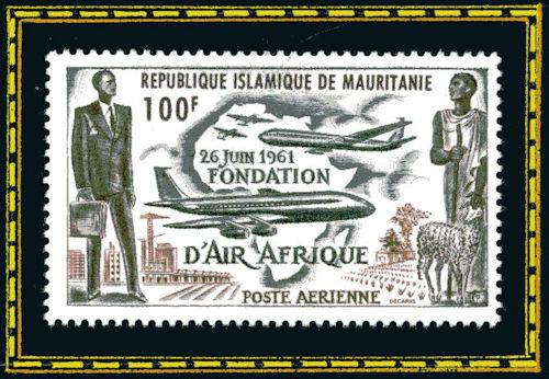 République Islamique de Mauritanie - 26 juin 1961, fondation d'Air Afrique