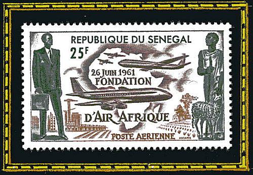 République du Sénégal - 26 juin 1961, fondation d'Air Afrique