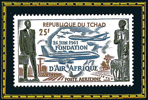République de Tchad - 26 juin 1961, fondation d'Air Afrique