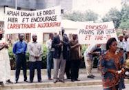 Grève Abidjan 2001