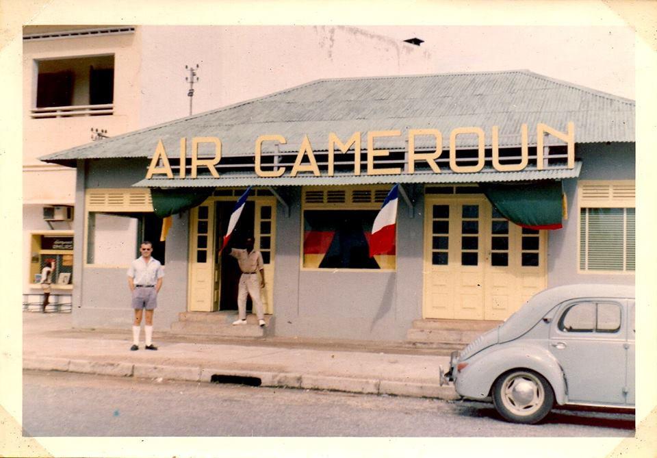 Air Cameroun à Douala dans la fin des années 60
