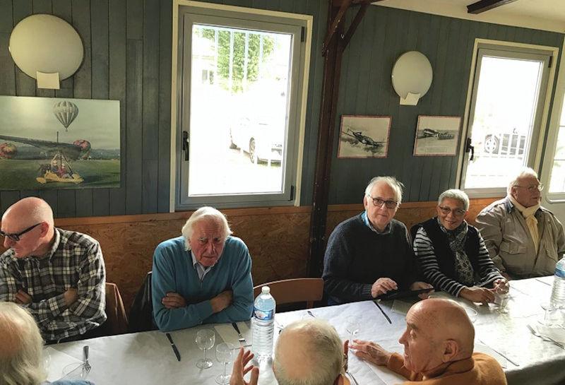 Déjeuner des anciens, aérodrome Persan-Beaumont le 9 novembre 2017