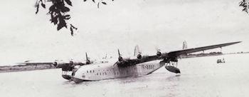 Photo Hervé Hasse, Fort-Lamy fin août 1955 - Latécoère631, F-BDRE