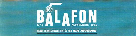 Balafon n° 4 - novembre 1965